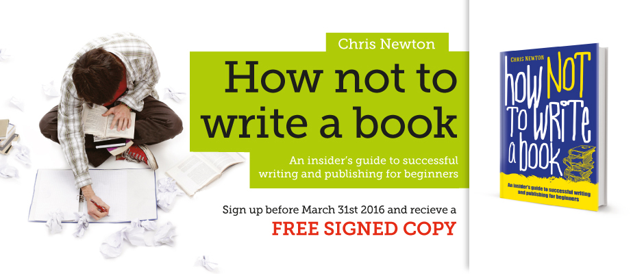 How Not To Write A Book Bestseller