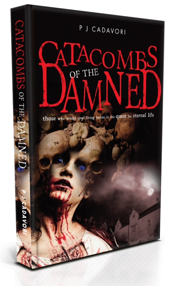 Catacombs of the Damned - horror book