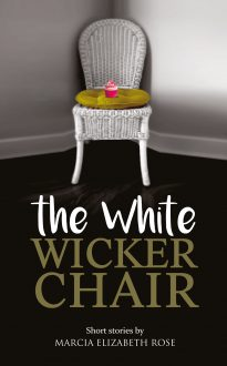 the white wicker chair cover